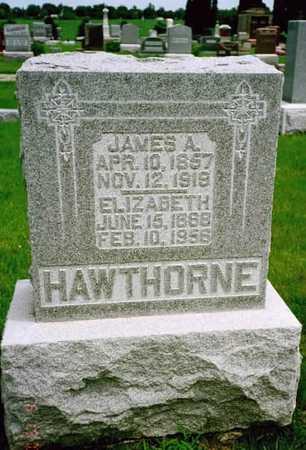 HAWTHORNE, JAMES A. - Washington County, Iowa | JAMES A. HAWTHORNE