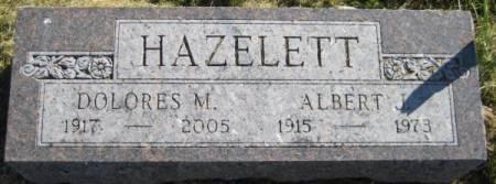 HAZELETT, ALBERT J. - Washington County, Iowa | ALBERT J. HAZELETT