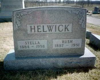 HELWICK, RUSH - Washington County, Iowa | RUSH HELWICK