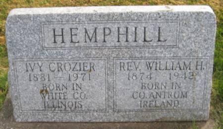 HEMPHILL, REV.WILLIAM H. - Washington County, Iowa | REV.WILLIAM H. HEMPHILL