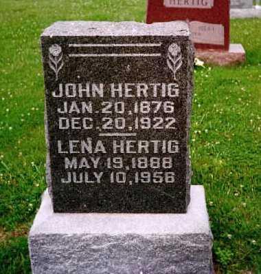 HERTIG, LENA - Washington County, Iowa | LENA HERTIG