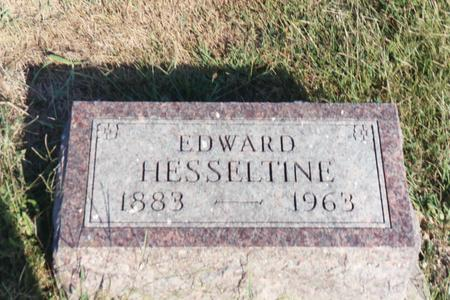 HESSELTIN, EDWARD - Washington County, Iowa | EDWARD HESSELTIN