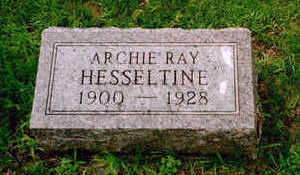 HESSELTINE, ARCHIE RAY - Washington County, Iowa | ARCHIE RAY HESSELTINE