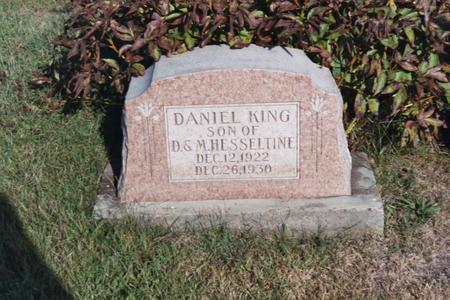 HESSELTINE, DANIEL K. - Washington County, Iowa | DANIEL K. HESSELTINE