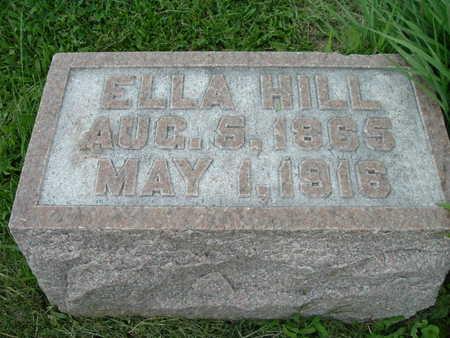 HILL, ELLA - Washington County, Iowa | ELLA HILL