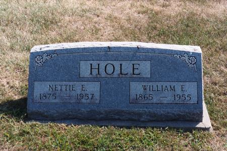 HOLE, NETTIE E. - Washington County, Iowa | NETTIE E. HOLE