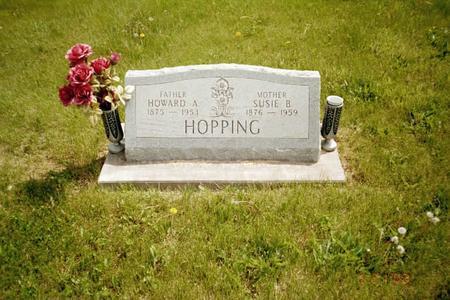HOPPING, SUSIE B - Washington County, Iowa   SUSIE B HOPPING