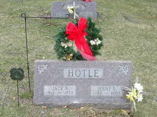 HOTLE, JACK R. - Washington County, Iowa   JACK R. HOTLE