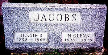 DODD JACOBS, JESSIE RUTH - Washington County, Iowa | JESSIE RUTH DODD JACOBS