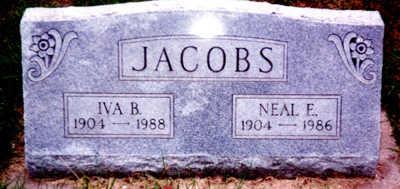 JACOBS, NEAL ERNEST - Washington County, Iowa | NEAL ERNEST JACOBS
