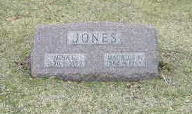 JONES, MINA E. - Washington County, Iowa | MINA E. JONES