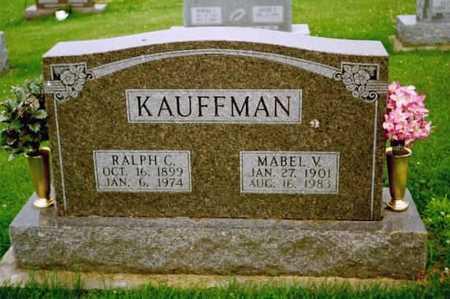 KAUFFMAN, RALPH C. - Washington County, Iowa   RALPH C. KAUFFMAN