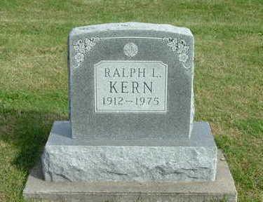 KERN, RALPH L. - Washington County, Iowa | RALPH L. KERN
