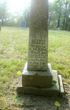 KING, MARY - Washington County, Iowa   MARY KING