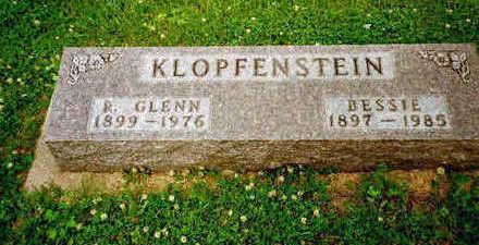 KLOPFENSTEIN, BESSIE - Washington County, Iowa | BESSIE KLOPFENSTEIN