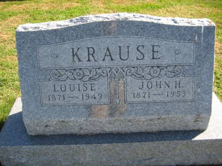 KRAUSE, LOUISE - Washington County, Iowa | LOUISE KRAUSE