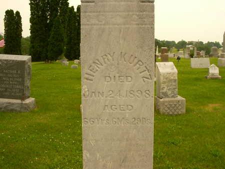 KURTZ, HENRY - Washington County, Iowa | HENRY KURTZ