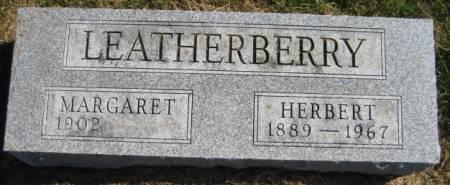 LEATHERBERRY, MARGARET - Washington County, Iowa | MARGARET LEATHERBERRY