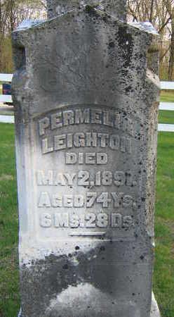 LEIGHTON, PERMELIA - Washington County, Iowa | PERMELIA LEIGHTON
