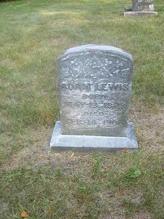 LEWIS, ADAM - Washington County, Iowa   ADAM LEWIS