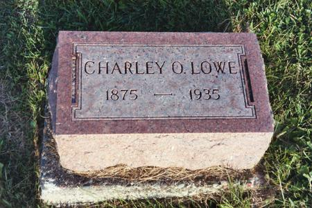 LOWE, CHARLEY O. - Washington County, Iowa | CHARLEY O. LOWE