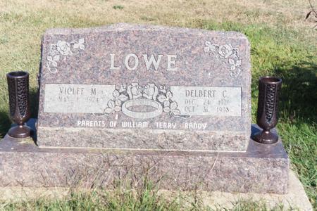 LOWE, DELBERT C. - Washington County, Iowa | DELBERT C. LOWE