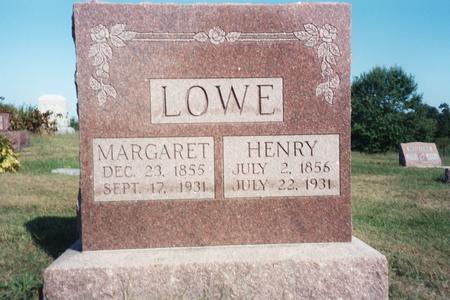 LOWE, MARGARET - Washington County, Iowa | MARGARET LOWE