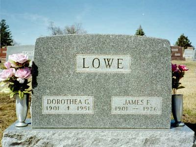 LOWE, JAMES F. - Washington County, Iowa | JAMES F. LOWE