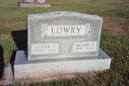 LOWRY, BESSIE E. - Washington County, Iowa | BESSIE E. LOWRY