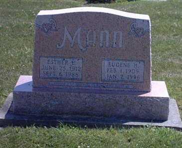 ALLRED MANN, ESTHER - Washington County, Iowa | ESTHER ALLRED MANN