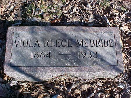 MCBRIDE, VIOLA - Washington County, Iowa | VIOLA MCBRIDE