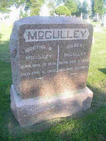 MCCULLEY, GILBERT - Washington County, Iowa | GILBERT MCCULLEY