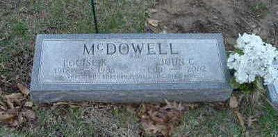 MCDOWELL, JOHN C. - Washington County, Iowa   JOHN C. MCDOWELL