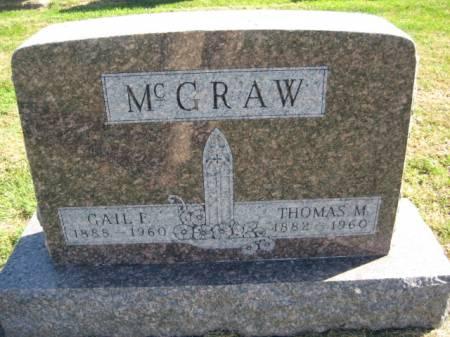 MCGRAW, THOMAS M. - Washington County, Iowa | THOMAS M. MCGRAW
