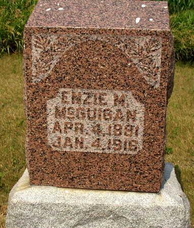 MCGUIGAN, ENZIE M - Washington County, Iowa   ENZIE M MCGUIGAN