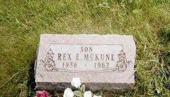 MCKUNE, REX E. - Washington County, Iowa | REX E. MCKUNE
