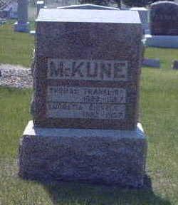 SHIVELY MCKUNE, LUCRETIA - Washington County, Iowa | LUCRETIA SHIVELY MCKUNE