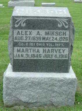 MIKSCH, ALEX A. - Washington County, Iowa | ALEX A. MIKSCH