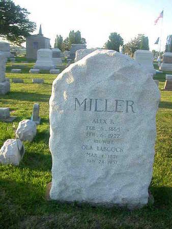 MILLER, OLA BABCOCK - Washington County, Iowa | OLA BABCOCK MILLER