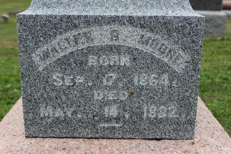 MOORE, WALTER B - Washington County, Iowa | WALTER B MOORE