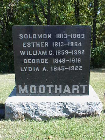 MOOTHART, SOLOMON - Washington County, Iowa | SOLOMON MOOTHART