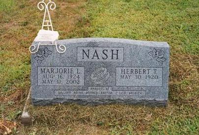NASH, MARJORIE L. - Washington County, Iowa | MARJORIE L. NASH
