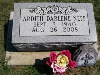 NEFF, ARDITH DARLENE - Washington County, Iowa | ARDITH DARLENE NEFF