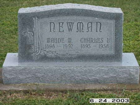 CARPENTER NEWMAN, MAUDES - Washington County, Iowa | MAUDES CARPENTER NEWMAN