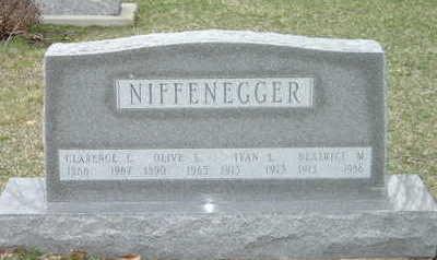 NIFFENEGGER, OLIVE S. - Washington County, Iowa | OLIVE S. NIFFENEGGER