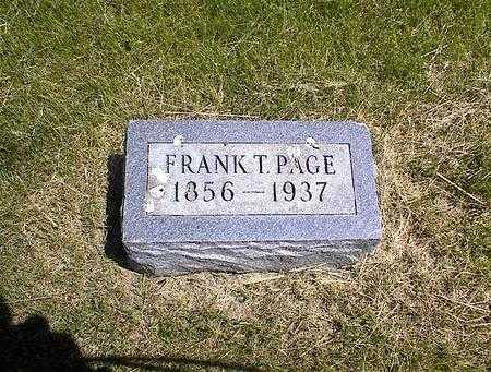 PAGE, FRANKLIN THEOPHOLIS - Washington County, Iowa   FRANKLIN THEOPHOLIS PAGE