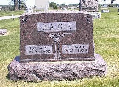 SHUMAN PAGE, IDA MAY - Washington County, Iowa | IDA MAY SHUMAN PAGE