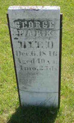 PARK, GEORGE - Washington County, Iowa | GEORGE PARK