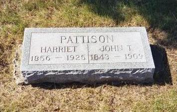 PATTISON, HARRIET - Washington County, Iowa | HARRIET PATTISON