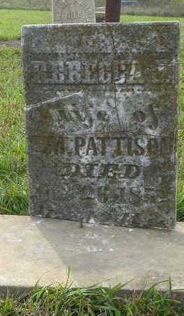 PATTISON, REBECCA J. - Washington County, Iowa | REBECCA J. PATTISON